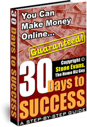 Get this amazing step-by-step instruction book that gives you a detailed description of what you should do every day for 30 days to really succeed online!